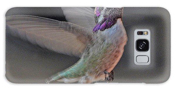Hummingbird In Flight Galaxy Case by Jay Milo