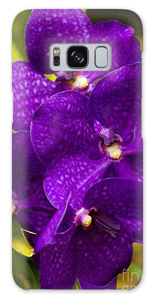Play On Purple Galaxy Case by Laurinda Bowling