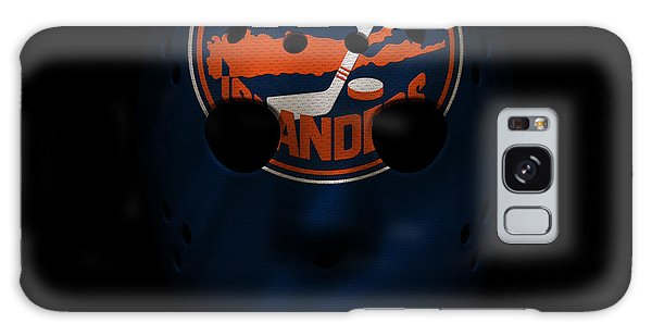 Islanders Galaxy Case - Islanders Jersey Mask by Joe Hamilton
