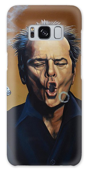 Jack Nicholson Painting Galaxy Case
