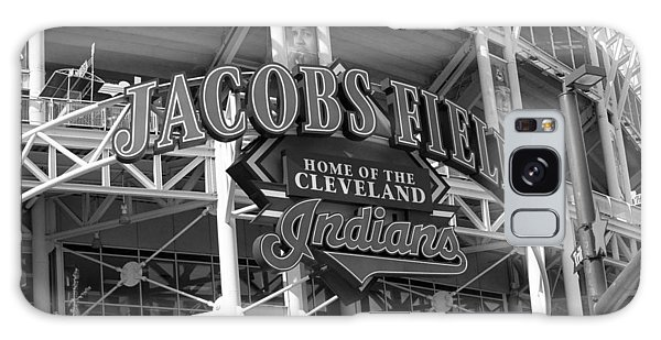 Jacobs Field - Cleveland Indians Galaxy Case by Frank Romeo