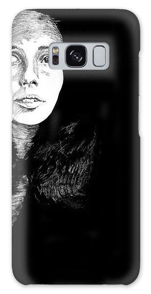 Joan Galaxy Case by Carl Genovese
