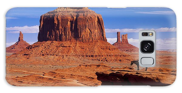 John Ford Point Monument Valley Galaxy Case