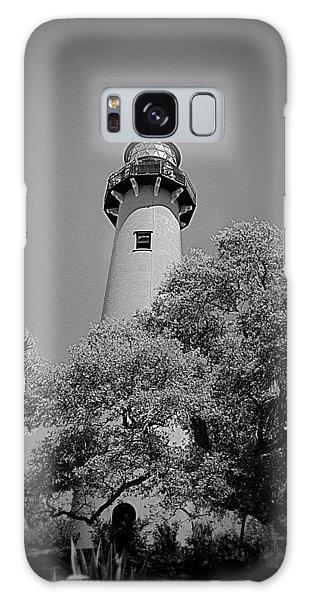 Jupiter Lighthouse Galaxy Case