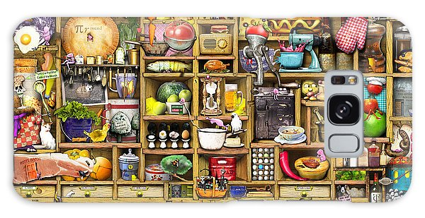 Shelves Galaxy Case - Kitchen Cupboard by MGL Meiklejohn Graphics Licensing