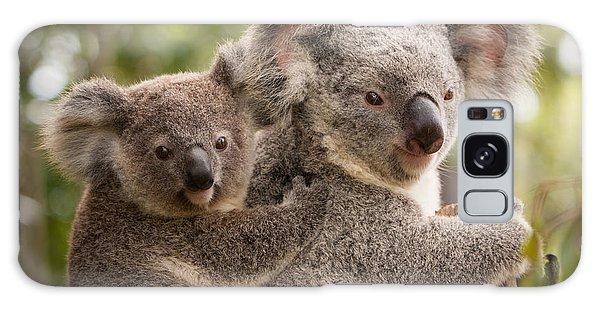 Koala And Joey Galaxy Case by Craig Dingle