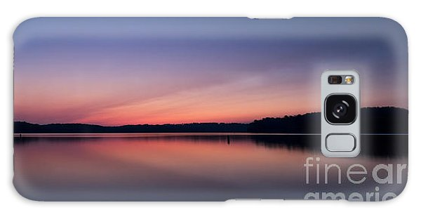 Lake Lanier After Sunset Galaxy Case