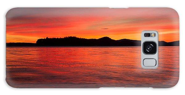 Lake Winnipesaukee Galaxy Case by Robert Clifford