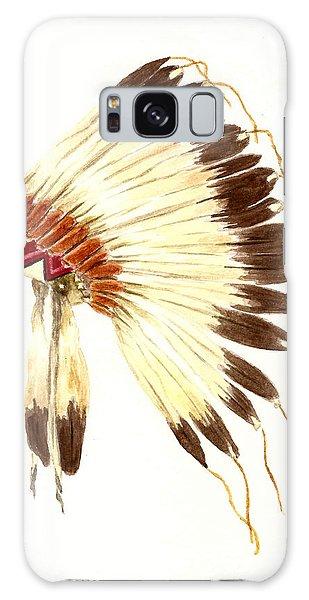 Feathers Galaxy Case - Lakota Headdress by Michael Vigliotti
