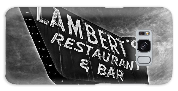 Lambert's Restaurant And Bar Galaxy Case by Andy Crawford