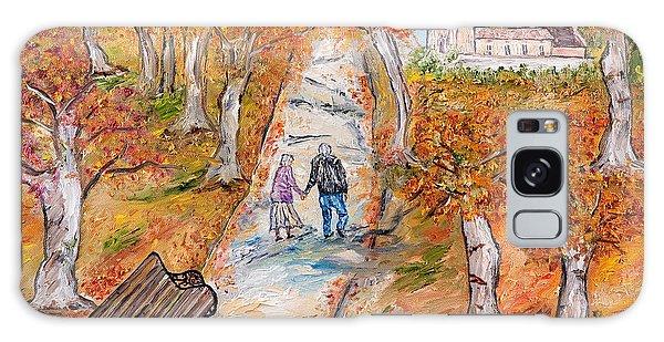 L'autunno Della Vita Galaxy Case by Loredana Messina