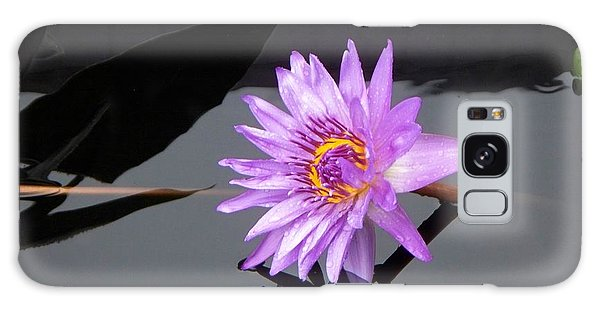 Lavender Lily Galaxy Case by Eric  Schiabor