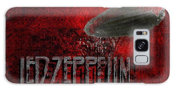 Led Zeppelin Galaxy Case by Jack Zulli