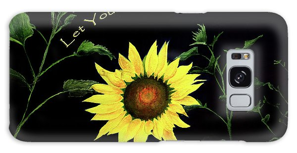 Let Your Light So Shine Galaxy Case