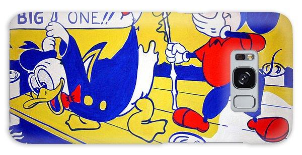 Lichtenstein's Look Mickey Galaxy Case by Cora Wandel