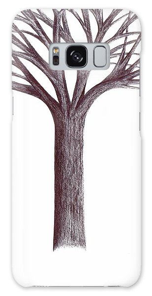 Second-generation....tree Without Roots Galaxy Case by Giuseppe Epifani