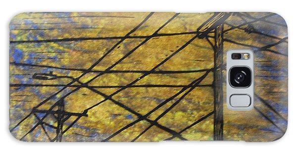Lines Galaxy Case