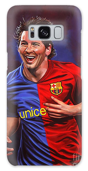 Realistic Galaxy Case - Lionel Messi  by Paul Meijering