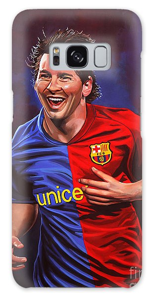 Sportsman Galaxy Case - Lionel Messi  by Paul Meijering