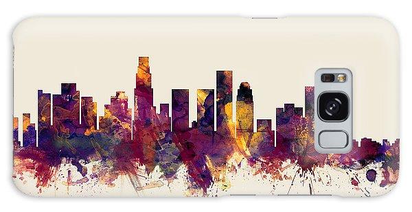 Los Angeles California Skyline Galaxy Case