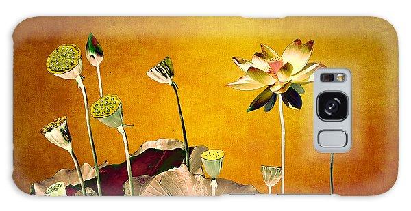 Lotus Flower  Galaxy Case