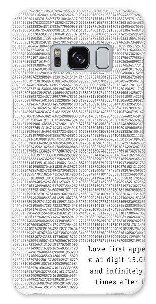 Visualization Galaxy Case - Love In Pi by Martin Krzywinski