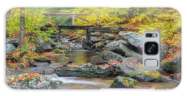 Galaxy Case featuring the photograph Macedonia Brook by Bill Wakeley