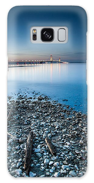 Mackinac Bridge Galaxy Case