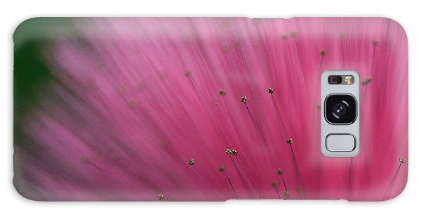 Macro Photograph Of A Calliandra Flower Galaxy Case