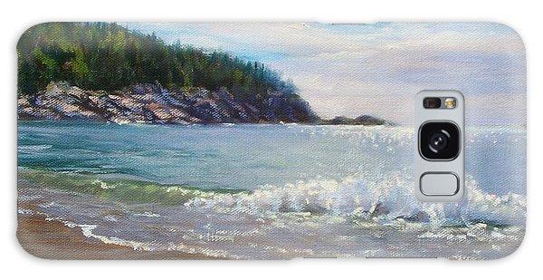 Maine Morning Galaxy Case by Bonnie Mason