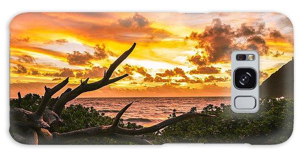 Makapuu Sunrise 4 Galaxy Case