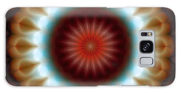Mandala 83 Galaxy Case by Terry Reynoldson