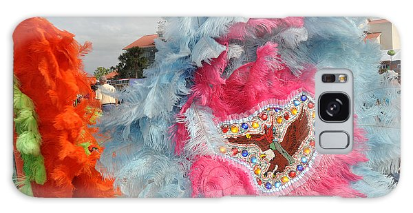 Mardi Gras Indians Galaxy Case