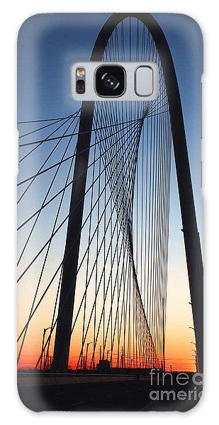Margaret Hunt Hill Bridge Galaxy Case by Elena Nosyreva
