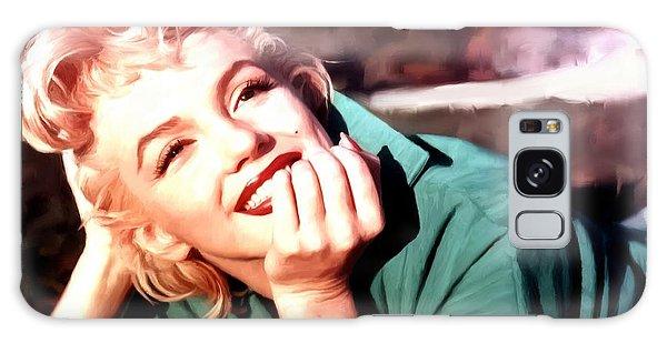 Marilyn Monroe Large Size Portrait Galaxy Case