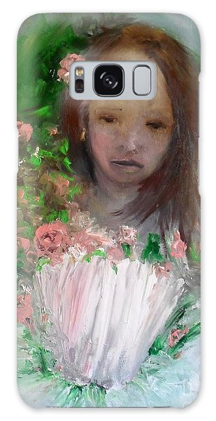 Mary Rosa Galaxy Case by Laurie L