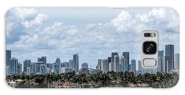 Miami Skyline Galaxy Case
