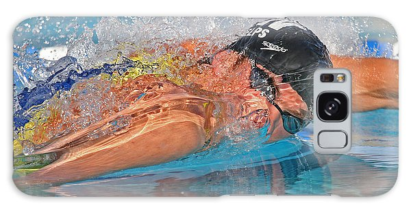 Michael Phelps Galaxy Case by Duncan Selby