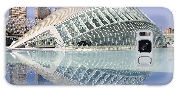 The Hemisferic In Valencia Spain Galaxy Case