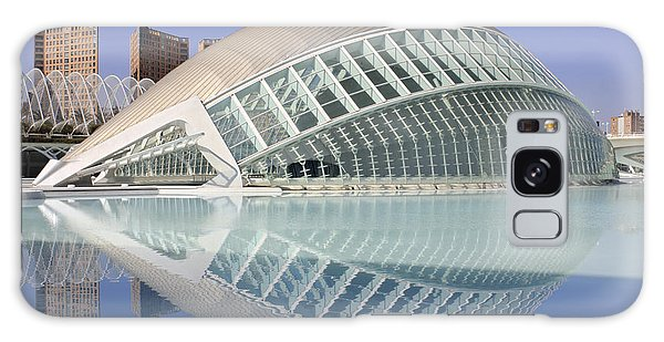 The Hemisferic In Valencia Spain Galaxy Case