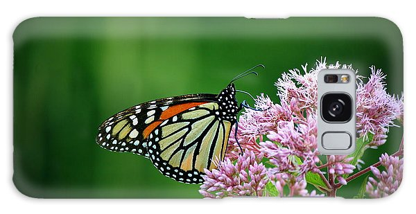 Monarch In Light  Galaxy Case by Neal Eslinger