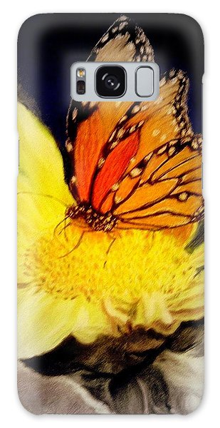 Monarch Resting Sold Pastel Galaxy Case