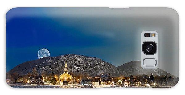 Mont Saint Hilaire Quebec Winter Galaxy Case