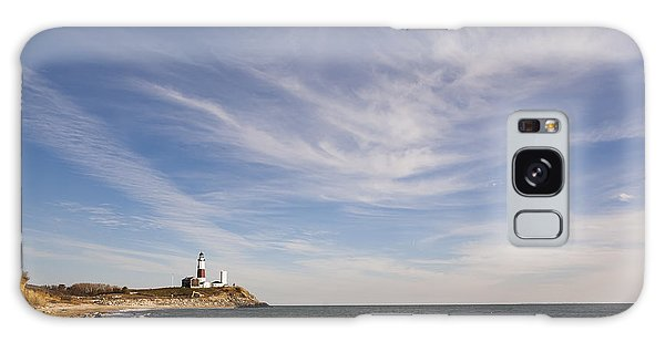 Montauk Point Lighthouse Galaxy Case