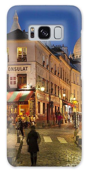 Montmartre Twilight Galaxy Case by Brian Jannsen