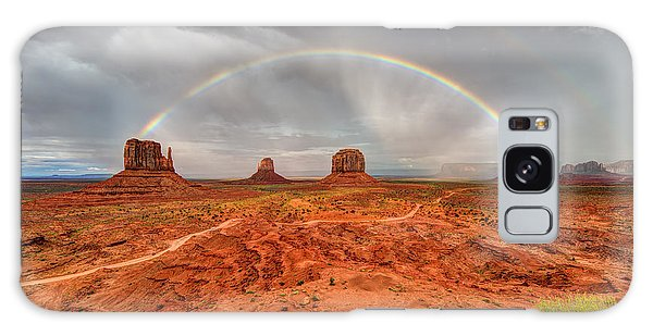 Monument Valley Rainbow Galaxy Case