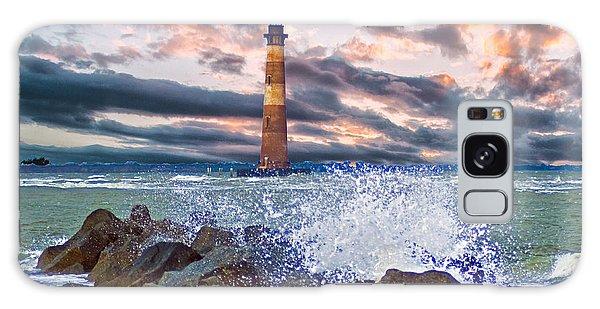 Morris Island Lighthouse Galaxy Case