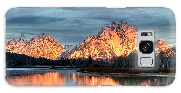 Mount Moran Galaxy Case by Steve Stuller