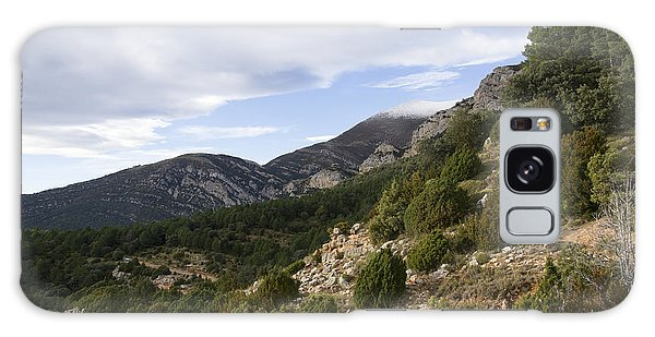 Mountain Landscape In Huesca Galaxy Case