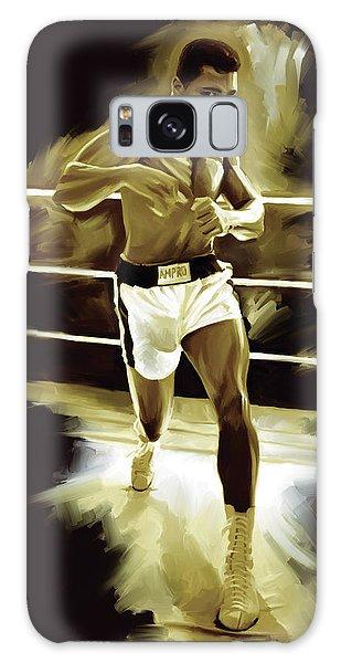 Muhammad Ali Boxing Artwork Galaxy Case